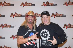 Ken Rochon and Bret Michaels