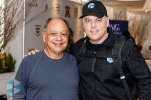 Ken Rochon and Cheech Marin