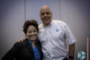 Ken Rochon and Dr. Emily Letran
